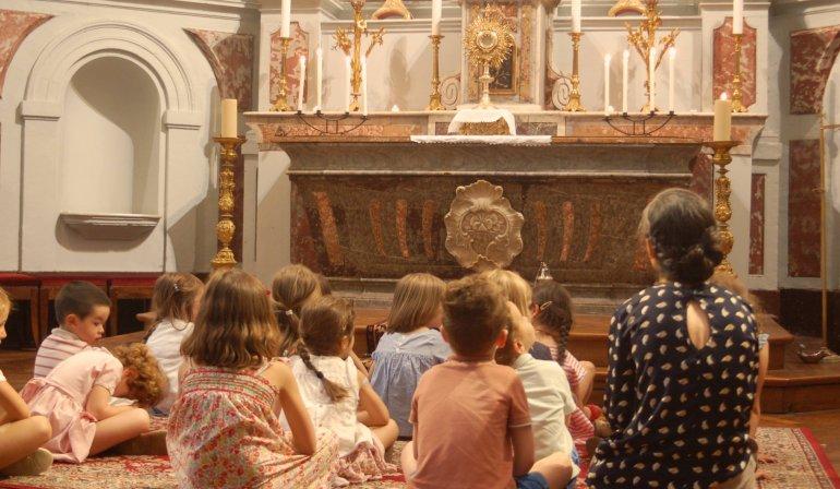École de prière, suivie d'un goûter de Noël