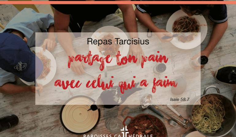 Les repas Tarcisius s'organisent !