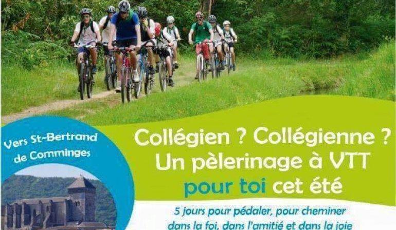 Pélé VTT pour les collégiens : pensez à vous inscrire !!