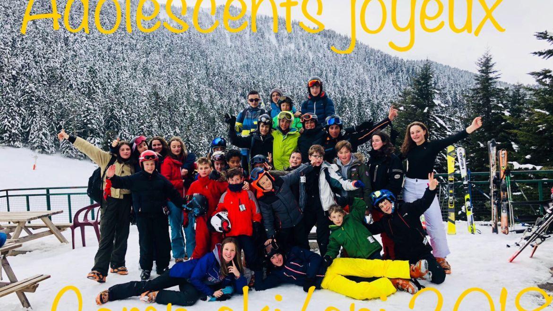 Le camp ski/spi, une semaine intense !!