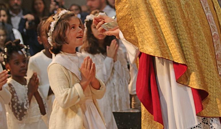 Homélie de première communion 2018 – dimanche 17 juin