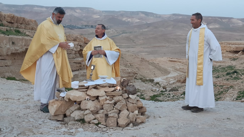 Retour sur le pèlerinage en Terre Sainte