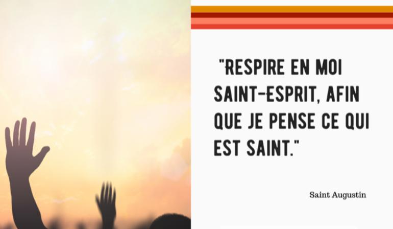 Relecture Veillée de prière à l'Esprit-Saint
