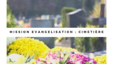 Mission évangélisation et Bénédiction cimetière Terre-Cabade
