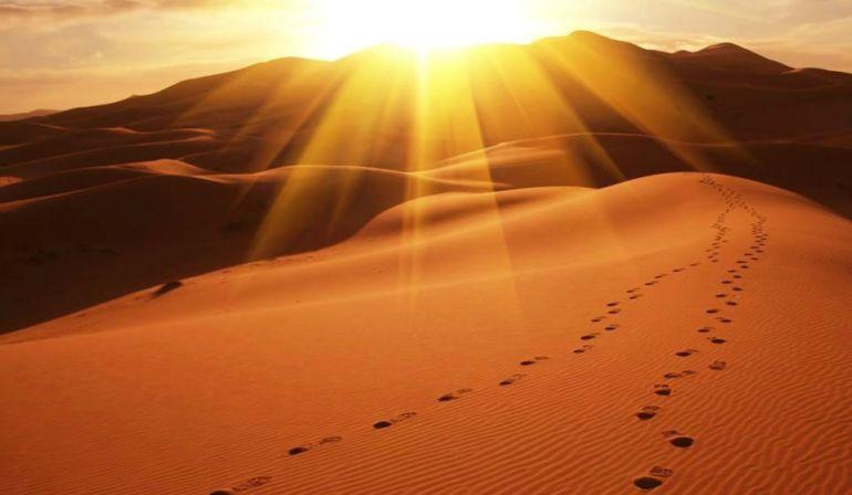 Le carême nous engage à traverser le désert.