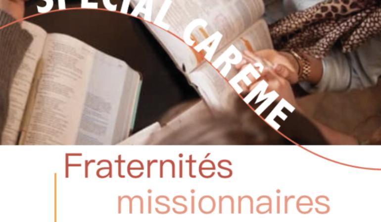 Fraternités missionnaires spécial carême